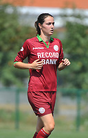 20180804 - ZULTE , BELGIUM : Zulte Waregem's Machteld Vandenbroucke pictured during a friendly soccer match between the women teams of Zulte Waregem and Bosdam Beveren  , during the preparation of the 2018-2019 season, Saturday 4 August 2018 . PHOTO DIRK VUYLSTEKE / SPORTPIX.BE