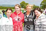 Louise Moroney, Amy Carmody Listowel, Kathy O'Connor Athea and Elizabeth Mulcahy Abbeyfeale at the 150th Castleisland races on Saturday
