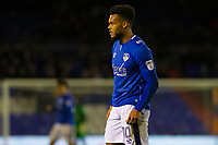Oldham Athletic's Aaron Holloway during the Sky Bet League 1 match between Oldham Athletic and Rochdale at Boundary Park, Oldham, England on 18 November 2017. Photo by Juel Miah/PRiME Media Images