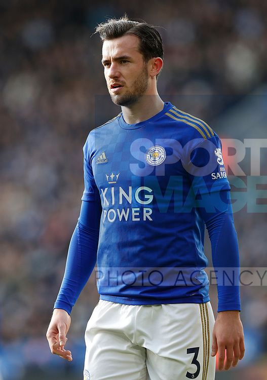 Ben Chilwellof Leicester City during the Premier League match against Chelsea at the King Power Stadium, Leicester. Picture date: 1st February 2020. Picture credit should read: Darren Staples/Sportimage