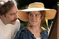 Paula (2016)    <br /> Fritz Mackensen (Nicki von Tempelhoff), Paula (Carla Juri)<br /> *Filmstill - Editorial Use Only*<br /> CAP/KFS<br /> Image supplied by Capital Pictures