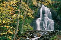 Moss Glen Falls<br /> Granville Gulf Reservation<br /> Green Mountains<br /> Vermont,  New England