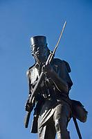 Afrique/Afrique de l'Est/Tanzanie/Dar es-Salaam: l'Askari Monument - Statue en bronze de combattant de la première guerre mondiale - Afrique orientale allemande