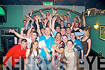 2719-2722.---------.Birthday bash.-------------.Richard Gorden,Leith East,Tralee,front centre,celebrated his 23rd birthday with a wild night in Dowdies bar,Boherbue,Tralee last Friday night.