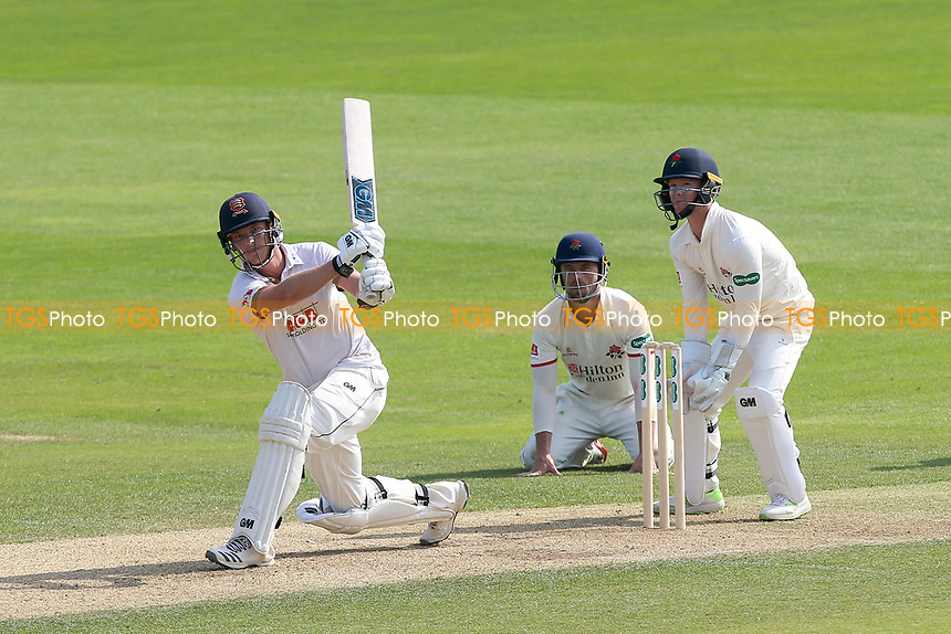 Tom Westley hits 4 runs for Essex during Essex CCC vs Lancashire CCC, Specsavers County Championship Division 1 Cricket at The Cloudfm County Ground on 21st April 2018