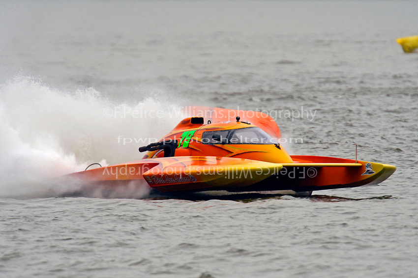 "Patrick Haworth, E-79 ""Bad Influence"" (5 Litre class hydroplane(s)"