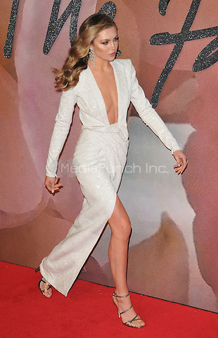 Abbey Clancy at the Fashion Awards 2016, Royal Albert Hall, Kensington Gore, London, England, UK, on Monday 05 December 2016. <br /> CAP/CAN<br /> ©CAN/Capital Pictures /MediaPunch ***NORTH AND SOUTH AMERICAS ONLY***