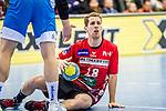 Terwolbeck, Alexander (HSG Nordhorn-Lingen #18) / TVB 1898 Stuttgart - HSG Nordhorn Lingen / HBL / LIQUI MOLY 1.Handball-BundesligaSCHARRena / Stuttgart Baden-Wuerttemberg / Deutschland <br /> <br /> Foto © PIX-Sportfotos *** Foto ist honorarpflichtig! *** Auf Anfrage in hoeherer Qualitaet/Aufloesung. Belegexemplar erbeten. Veroeffentlichung ausschliesslich fuer journalistisch-publizistische Zwecke. For editorial use only.