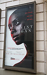 """Theatre Marquee unveiling for """"Saint Joan"""" starring Condola Rashad on February 15, 2018 at the Samuel J. Friedman Theatre in New York City."""