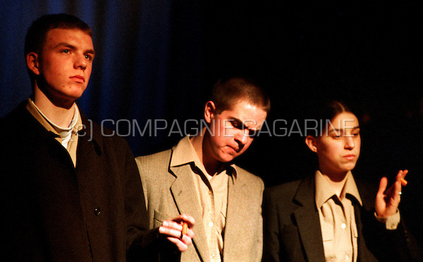 "School theatre Thespikon playing ""De Stuitbare Opkomst van Arturo Ui"" from Bertolt Brecht directed by Stijn Devillé (Belgium, 04/03/1998)"