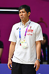 Satoshi Sakumoto (JPN), <br /> AUGUST 15, 2018 - Basketball : Women's Qualification round match between Hong Kong 44-121 Japan at Gelora Bung Karno Basket Hall A during the 2018 Jakarta Palembang Asian Games in Jakarta, Indonesia.<br /> (Photo by MATSUO.K/AFLO SPORT)