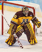 Adam Wilcox (MN - 32) - The University of Minnesota Golden Gophers defeated the University of North Dakota 2-1 on Thursday, April 10, 2014, at the Wells Fargo Center in Philadelphia to advance to the Frozen Four final.