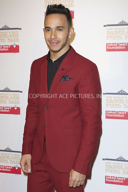 WWW.ACEPIXS.COM<br /> <br /> February 24 2015, London<br /> <br /> Lewis Hamilton at the First Fabulous Fund Fair at the Roundhouse on February 24 2015 in London<br /> <br /> By Line: Famous/ACE Pictures<br /> <br /> <br /> ACE Pictures, Inc.<br /> tel: 646 769 0430<br /> Email: info@acepixs.com<br /> www.acepixs.com