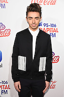 LONDON, UK. December 3, 2016: Nathan Sykes at the Jingle Bell Ball 2016 at the O2 Arena, Greenwich, London.<br /> Picture: Steve Vas/Featureflash/SilverHub 0208 004 5359/ 07711 972644 Editors@silverhubmedia.com
