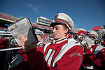 Wisconsin Badgers band plays prior to an NCAA College Football game against the Florida Atlantic Owls Saturday, September 9, 2017, in Madison, Wis. The Badgers won 31-14. (Photo by David Stluka)