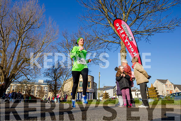 Paula Marley-Daly, pictured at the Kerry's Eye Valentines Weekend 10 mile road race on Sunday.