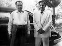 Iraq 1955?<br /> Left,  Ezzeddin Melafendi, right, Zayd Ahmad Othman in Baghdad   <br /> Irak 1955? <br /> De gauche a droite, Ezzeddin Melafendi  et Zayd Ahmad Othman a Baghdad