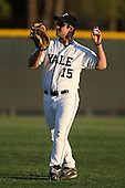 March 13, 2010:  First Baseman Josh Scharff of the Yale Bulldogs vs. the Akron Zips in a game at Henley Field in Lakeland, FL.  Photo By Mike Janes/Four Seam Images