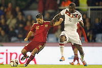 Spain's Nolito (l) and Germany's Rudiger during international friendly match.November 18,2014. (ALTERPHOTOS/Acero) /NortePhoto<br />