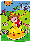 Marcello, CHILDREN, KINDER, NIÑOS, paintings+++++,ITMCEDH1089-1,#K#, EVERYDAY,princess