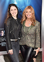WESTWOOD, CA - APRIL 11: Reilly Anspaugh (L) and Roma Downey attend the premiere of 20th Century Fox's 'Breakthrough' at Westwood Regency Theater on April 11, 2019 in Los Angeles, California.<br /> CAP/ROT/TM<br /> ©TM/ROT/Capital Pictures