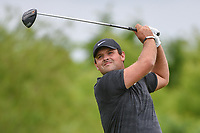 Patrick Reed (USA) watches his tee shot on 4 during round 3 of the AT&T Byron Nelson, Trinity Forest Golf Club, Dallas, Texas, USA. 5/11/2019.<br /> Picture: Golffile | Ken Murray<br /> <br /> <br /> All photo usage must carry mandatory copyright credit (© Golffile | Ken Murray)