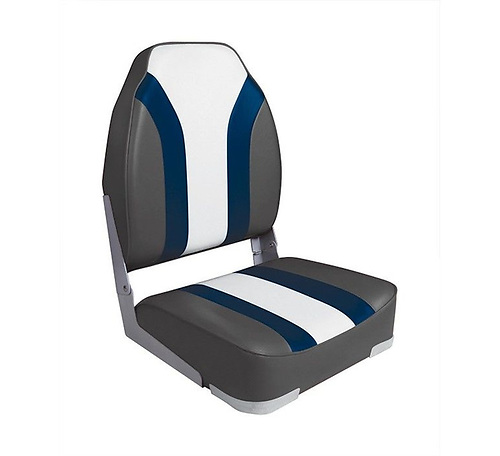 A High back fold down boat seat from O'Sullivan's Marine