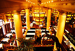 California, San Francisco: Hotel Monaco's elegant restaurant, the Grand Cafe..Photo #: 10-casanf340.Photo © Lee Foster 2008
