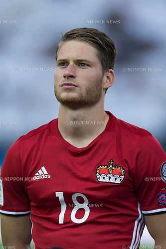 Nicolas Hasler (LIE), JUNE 11, 2017 - Football / Soccer : FIFA World Cup Russia 2018 European Qualifier Group G match between Italy 5-0 Liechtenstein at Dacia Arena in Udine, Italy. (Photo by Maurizio Borsari/AFLO)