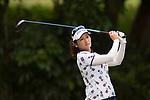 Golfer Liqing Chen of China during the 2017 Hong Kong Ladies Open on June 10, 2017 in Hong Kong, China. Photo by Marcio Rodrigo Machado / Power Sport Images