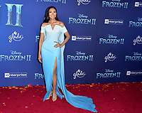 "LOS ANGELES, USA. November 08, 2019: Gam Wichayanee Piaklin at the world premiere for Disney's ""Frozen 2"" at the Dolby Theatre.<br /> Picture: Paul Smith/Featureflash"