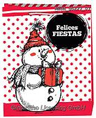 Dreams, CHRISTMAS SANTA, SNOWMAN, WEIHNACHTSMÄNNER, SCHNEEMÄNNER, PAPÁ NOEL, MUÑECOS DE NIEVE, paintings+++++,MEDAGBX27/03,#X#