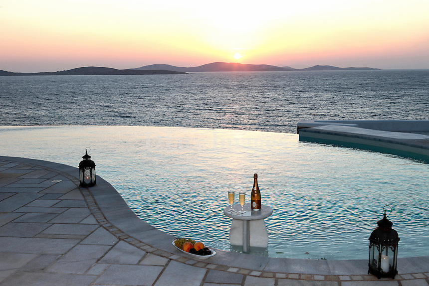 breathtaking sea view from the poolside
