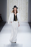 Model walks runway at Rachel Zoe Show during Mercedes Benz IMG New York Fashion Week Spring/Summer 2013 at Lincoln Center, New York, NY on September 12, 2012