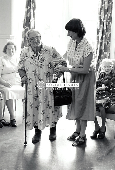 Nuffield House Day Centre for the elderly, Nottingham, UK Sep 1985