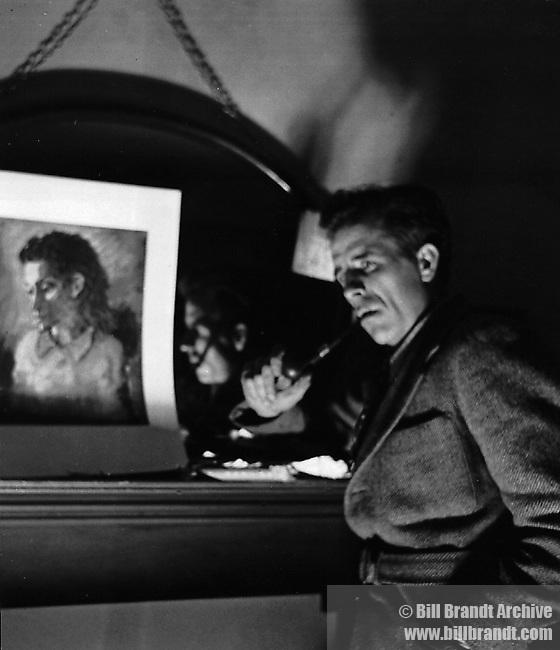 Mervyn Paeake, 1940s