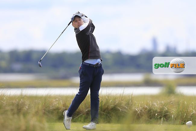 David Foy (Laytown &amp; Bettystown) during the 2nd round of the East of Ireland championship, Co Louth Golf Club, Baltray, Co Louth, Ireland. 03/06/2017<br /> Picture: Golffile | Fran Caffrey<br /> <br /> <br /> All photo usage must carry mandatory copyright credit (&copy; Golffile | Fran Caffrey)