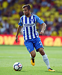 Bruno Saltor of Brighton & Hove Albion during the premier league match at the Vicarage Road Stadium, Watford. Picture date 26th August 2017. Picture credit should read: Robin Parker/Sportimage