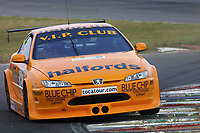 Round 7 of the 2002 British Touring Car Championship. #5 Dan Eaves (GBR). Team Halfords. Peugeot 406 Coupé.