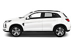 Car driver side profile view of a 2020 Mitsubishi ASX Diamond Edition 5 Door SUV