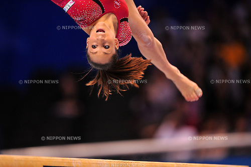Wieber Jordyn (USA),..OCTOBER 13, 2011 - Artistic Gymnastics : FIG World Championships Tokyo 2011 Artistic Gymnastics Women's All Around Final during Balance beam at Tokyo Metropolitan Gymnasium, Tokyo, Japan. (Photo by Jun Tsukida/AFLO SPORT) [0003]