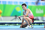 Shinya Wada (JPN), <br /> SEPTEMBER 8, 2016 - Athletics : <br /> Men's 5000m T11 Final<br /> at Olympic Stadium<br /> during the Rio 2016 Paralympic Games in Rio de Janeiro, Brazil.<br /> (Photo by AFLO SPORT)