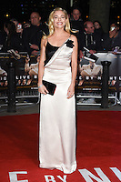 Sienna Miller at the &quot;Live by Night&quot; premiere at BFI South Bank, London, UK. <br /> 11th January  2017<br /> Picture: Steve Vas/Featureflash/SilverHub 0208 004 5359 sales@silverhubmedia.com
