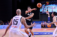 New Zealand Tall Blacks' Reuben Te Rangi in action during the FIBA World Cup Basketball Qualifier - NZ Tall Blacks v Jordan at Horncastle Arena, Christchurch, New Zealand on Thursday 29 November  2018. <br /> Photo by Masanori Udagawa. <br /> www.photowellington.photoshelter.com