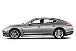 Driver side profile view of a 2011 Porsche Panamera S ..