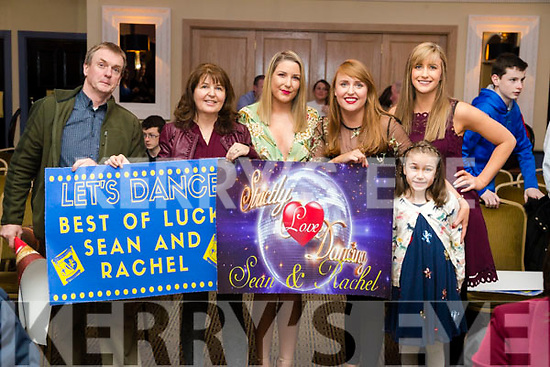 Brian, Evelyn, Rebecca, Jennifer and Claire Savage with Ava McGill, Ballymac, enjoying Ballymac Strictly Come Dancing, at Ballygarry House Hotel & Spa, Tralee, on Saturday night last.