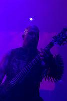Slayer performing at Vodafone Arena, Melbourne, 15 April 2007