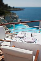 Europe/France/Provence-Alpes-Côte d'Azur/06/Alpes-Maritimes/Antibes:Hôtel Eden Roc- la Terrasse du restaurant