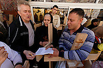 Israel, Jerusalem Old City, Good Friday at the Via Dolorosa,  Easter 2005<br />