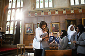 First Lady Michelle Obama greets students from Elizabeth Garrett Anderson School during a visit to Christ Church College, Oxford University, in Oxford, England, May 25, 2011. .Mandatory Credit: Lawrence Jackson - White House via CNP